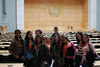 Dans le Palais de Nations.